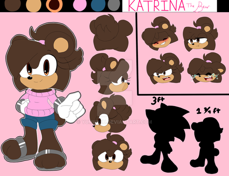 Katrina The Bear Reference by Puffy-Paws