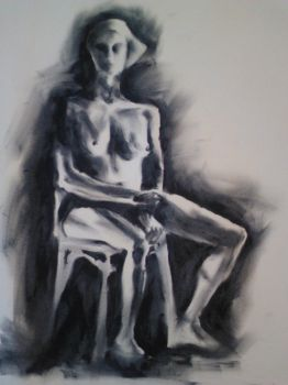 Model Fingerpainting by Sxey