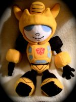 Bumblebee Transformer Plushie by WhittyKitty