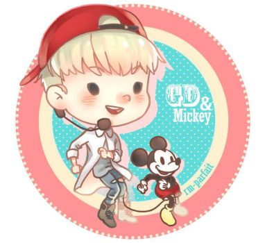 GD and Mickey by rm-parfait
