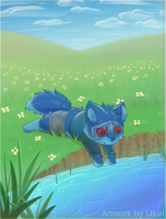 Water Puppy by Uluri