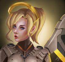 Mercy Portrait (Normal Version) by Firdausiyus