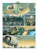 Dredd page 2 by DylanTeague