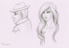 At the Station by ALittleLady