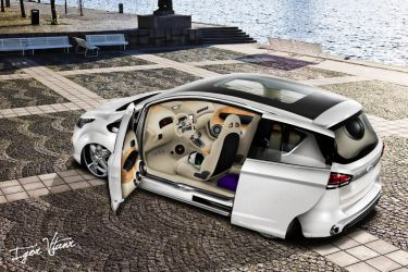 Ford b-max concept by IVtuner