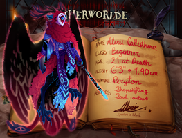 Otherworlde App - Alexei Callisthenes by glitteronin