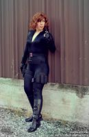 Black Widow: Against the Wall by RoxannaMeta