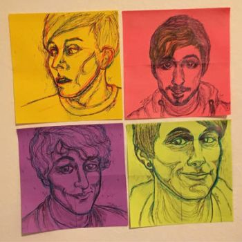 Foursquare feat. Phil, Jack, PJ, and Dan by JTellings