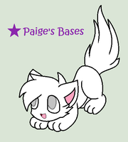 Playful Kitten Base by Paige-the-unicorn