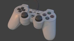 Playstation One Controller by ToTac