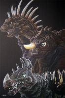 The Original Guardian Monsters by monsterartist