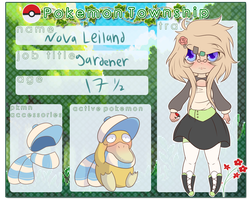 .:PTS:. Nova Leiland and Spencer Reference Sheet by Faw-n