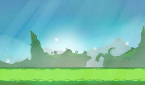 Fantazy game background by HealTheIll
