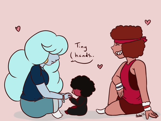 Tiny Hands ~ Steven Universe by Mikotodesu