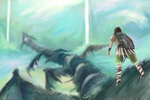Shadow of colossus tribute by blurymind