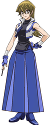 Alexis Rhodes New Outfit in Yu-gi-oh Arc V by Starman1999