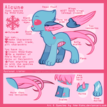 Aicune species ref by Ame-Kumo