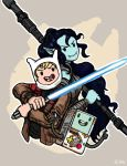 Finnceline - The Force Awakens by TheLivingShadow