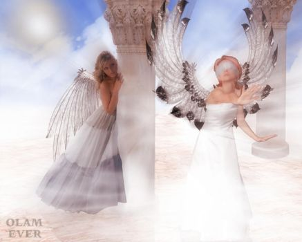 Do the angels play? by olamever