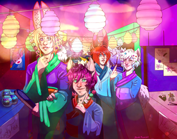 Festival Nights by Blank-Muse