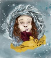 Winter Self Portrait by Grinn-Green