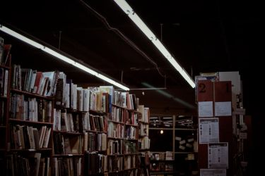 the bookstore. by depairfactor