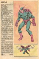 Beetle Official Marvel Handbook by TheSweetRosePrince