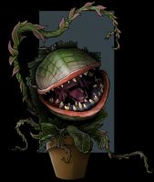 audrey II by nightwing1975