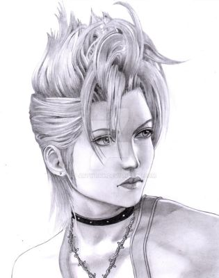 Final Fantasy X2 Paine FANART by MT-Artwork