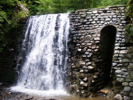 waterfall3 by compot-stock