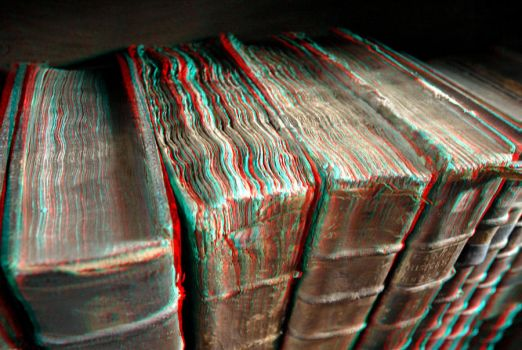 Old Books 3-D conversion by MVRamsey