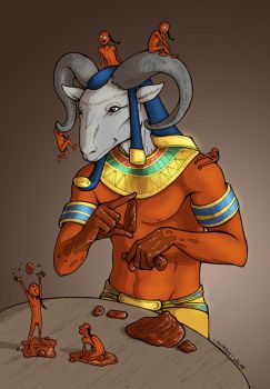 The Gods - Khnum by MadFretsy