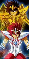 Saint Seiya / SS omega - Seiya - Koga Fan ArT by MCAshe