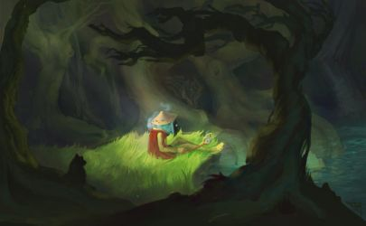 forest by Hyia-K