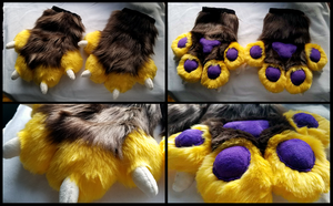 Puffy Paws - Commission by iPhysik