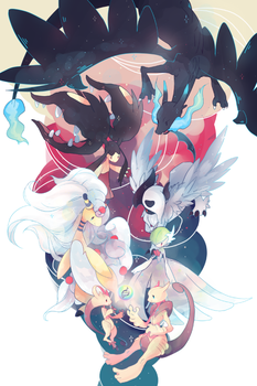 Mega Evolutions by onedayfour