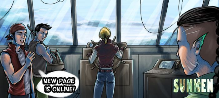 Sunken . 3 . The Chariot - p 20 - update! by CristianaLeone