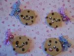 Chocolate Chip Cookie Charm by LadySashaviv