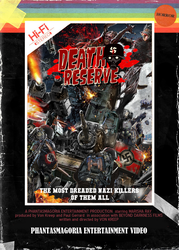 Death Reserve VHS Cover by VonKreep1313