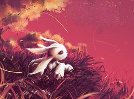 [Ori and the Blind Forest] Sunset. by ProtoRC