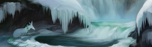 Frigid Pool by witherlings