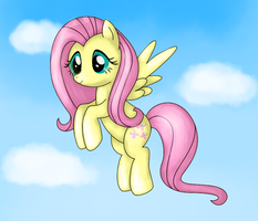 Old Fluttershy drawing by POOPYINACTIVEACCOUNT