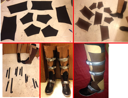 FFXIII Lightning Boots Tutorial by FinalFantasyCosplays