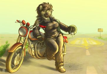 Charli - Route 66 by RickGriffin