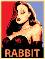 Jessica Rabbit Vector by predator-fan