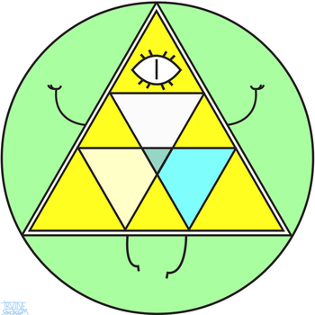 Bill Cipher in the Diamond Authority by IrvineSonicboom