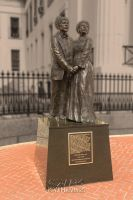 Dred and Harriet Scott in Bronze by kwhammes