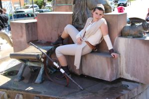 Star Wars Episode VII -  Rey Cosplay 6 by biohazard-no-1