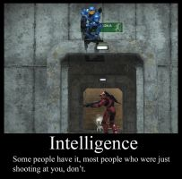 Intelligence - Demotivational by Terminate421
