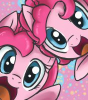 Pinkie and Berry by NolyCS